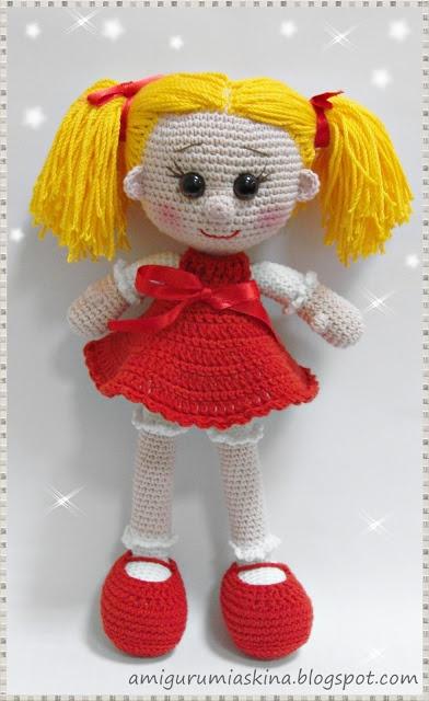 Amigurumi Sarı Şeker-Amigurumi doll   Amigurumi Aşkına Örgü Oyuncaklarım