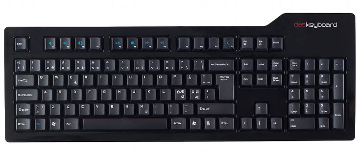 "Das Keyboard S Professional Nordic (SE/FI/NO/DK) layout, ""Soft Tactile"" - DatorDax.se"
