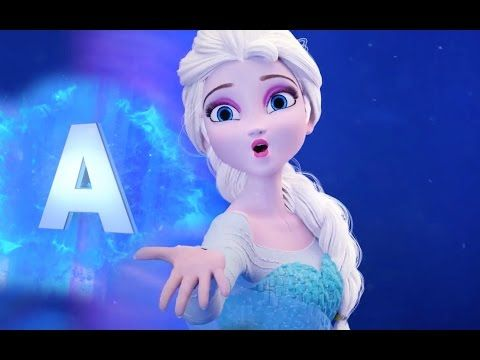 Frozen Alphabet ABC Song | English Alphabet | Learn the ABC's - YouTube