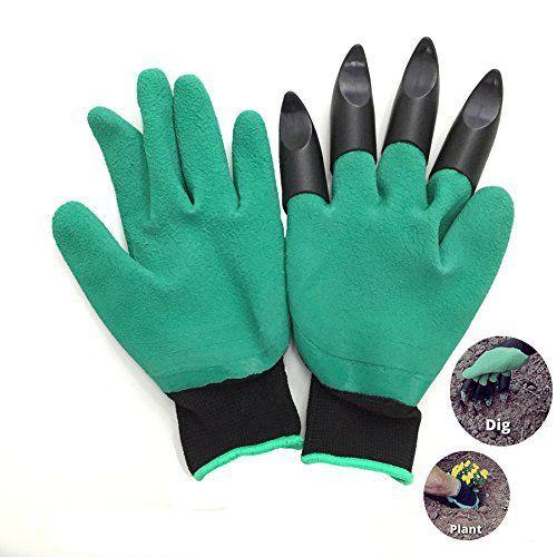 Gants de jardinage gants de travail pratique légers Slim-fit pour jardin gants de cuisine pour faire le menage, gants anti-perforationpour…