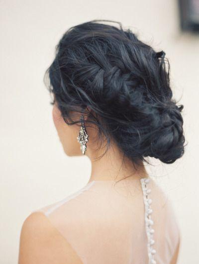 French braided updo: http://www.stylemepretty.com/2014/10/09/secret-garden-wedding-inspiration/ | Photography: Carol Ly - http://www.carollyphoto.com/