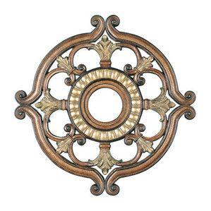 Livex Lighting 8216-57 Ceiling Medallion in Venetian Patina