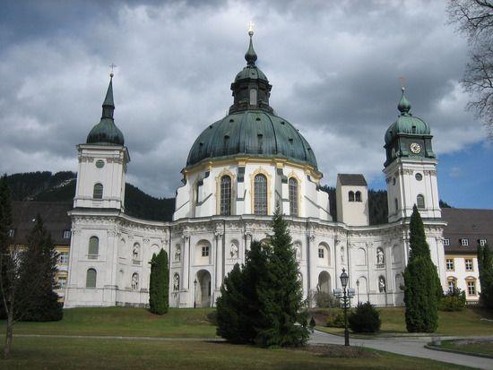 Ettal Monastery Garmisch-Partenkirchen, Germany.