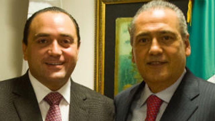 SE REÚNEN ROBERTO BORGE Y MANLIO FABIO BELTRONES