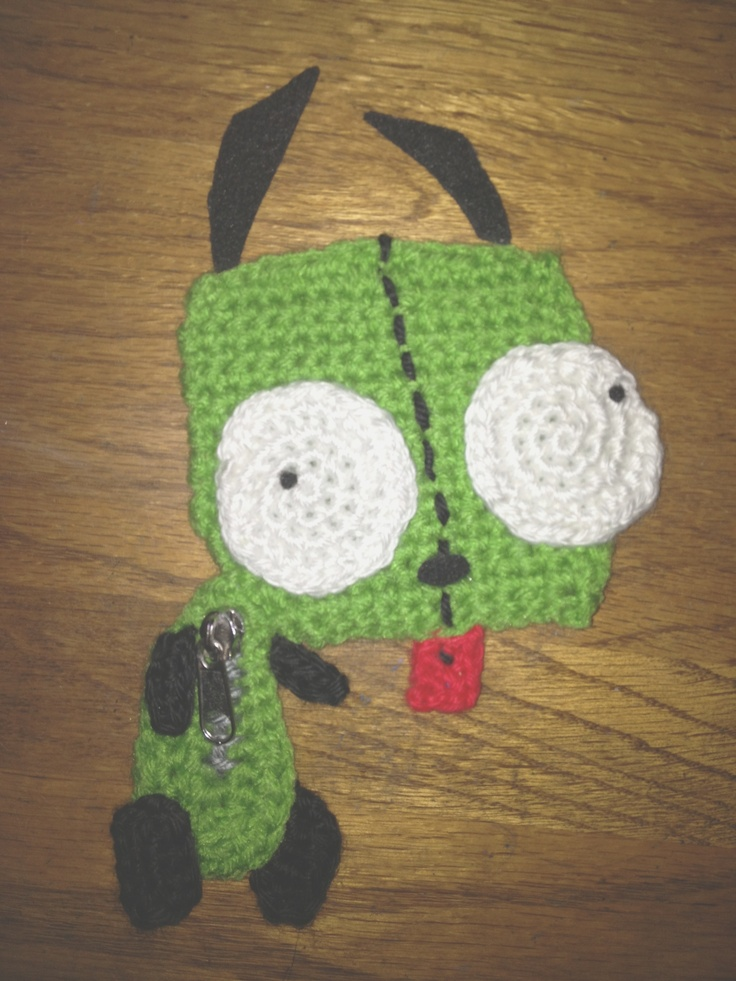 Crochet Invader Zim Patterns : Crochet Gir From Invader Zim FREE Pattern