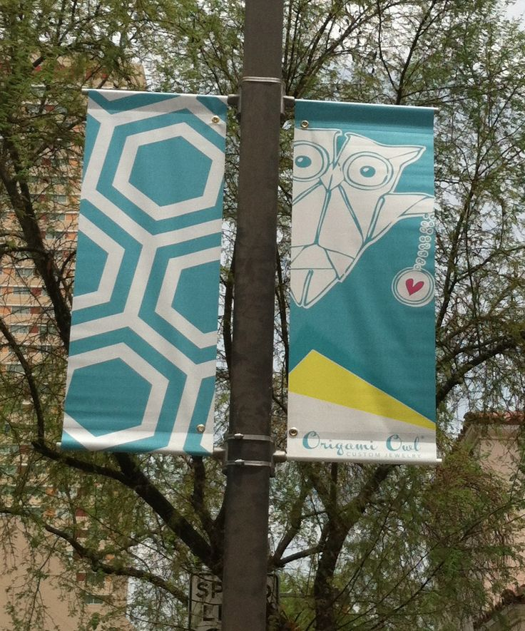 Street banner outside the Convention Center at #O2NationalConvention…