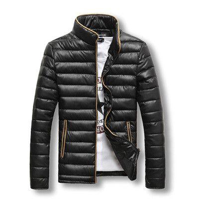 Men Jacket Fashion Men's Thick Warm Winter Down Coat And Jacket Cotton Casual Jacket Parka Men Casual Jacket
