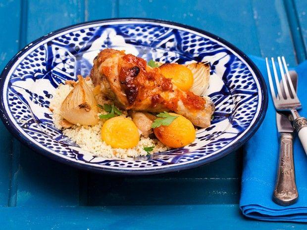 'Cozinha Prtica' - Frango com damasco da Rita Lobo (Foto: Reproduo / GNT)