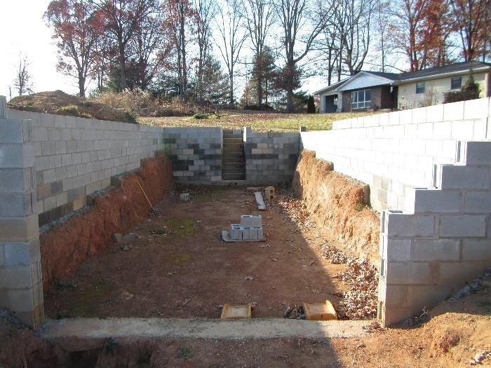 Building a walpini (underground greenhouse)