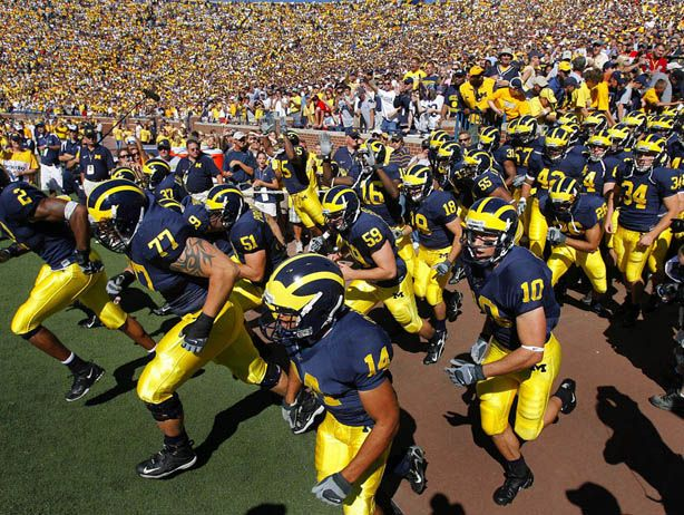 University of Michigan Wolverines, Maize and Blue