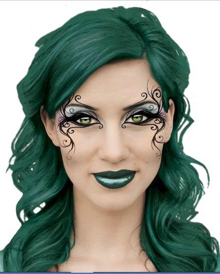 Face Paint Batgirl