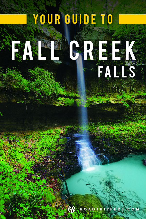 Swimming under a waterfall- sounds like something mermaids would do, right? Not when you visit Fall Creek Falls!