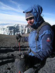 Governor Gary Johnson at the Summit of Kilimanjaro. visit www.garyjohnson2016.com