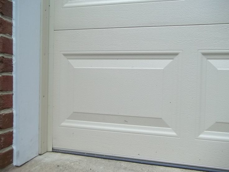 After Photograph Of Completed Garage Door Frame Pvc Trim