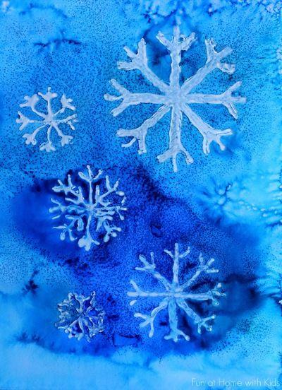 Lovely Winter Watercolor Art