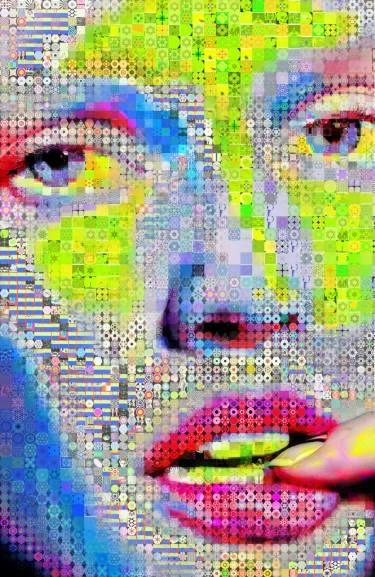 "Saatchi Art Artist John Lijo Bluefish; Collage, ""Pop Sugar"" #art"