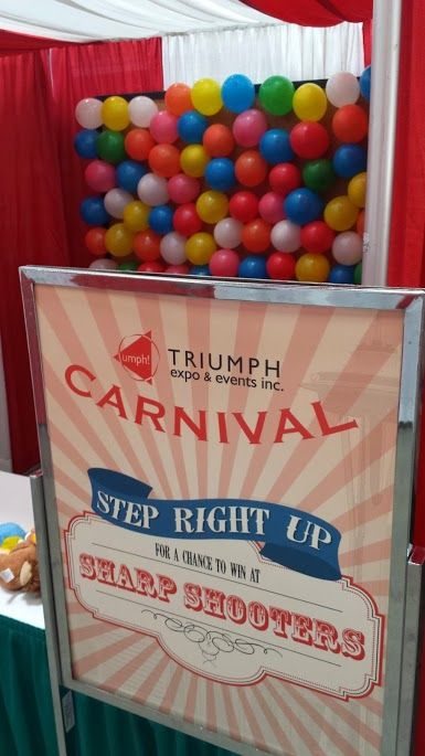 Custom Carnival Signs And Game Booths For Our Employee