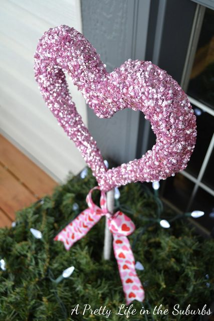 valentines day decorations planters as you may already know i love to fancy up - Valentine Outdoor Decorations