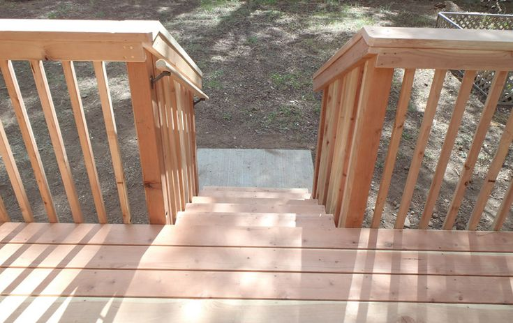 Best Wood Railing With Grippable Handrail Attached Can Be 400 x 300