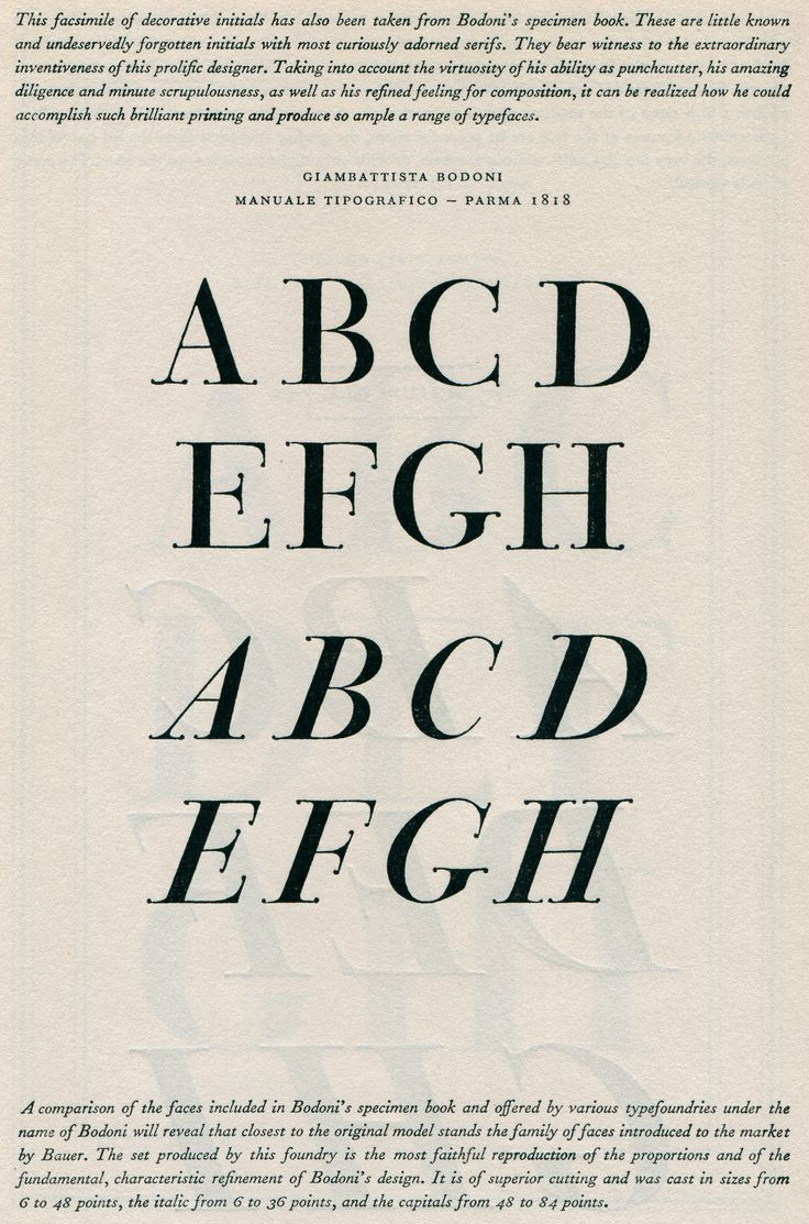 the work of giambattista bodoni a famous typographer Stefan sagmeister biography - stefan sagmeister is a renowned austrian-born us based contemporary graphic designer and typographer he is the co-founder of the famous design firm, sagme.