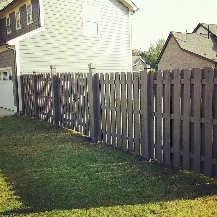 Best 25 Shadow Box Fence Ideas On Pinterest