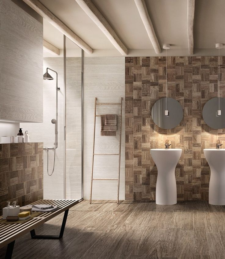 PORCELAIN STONEWARE FLOOR TILES WITH WOOD EFFECT HEJMO BY CERAMICA SANT'AGOSTINO