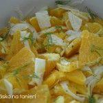 Osviežujúci pomarančový šalát