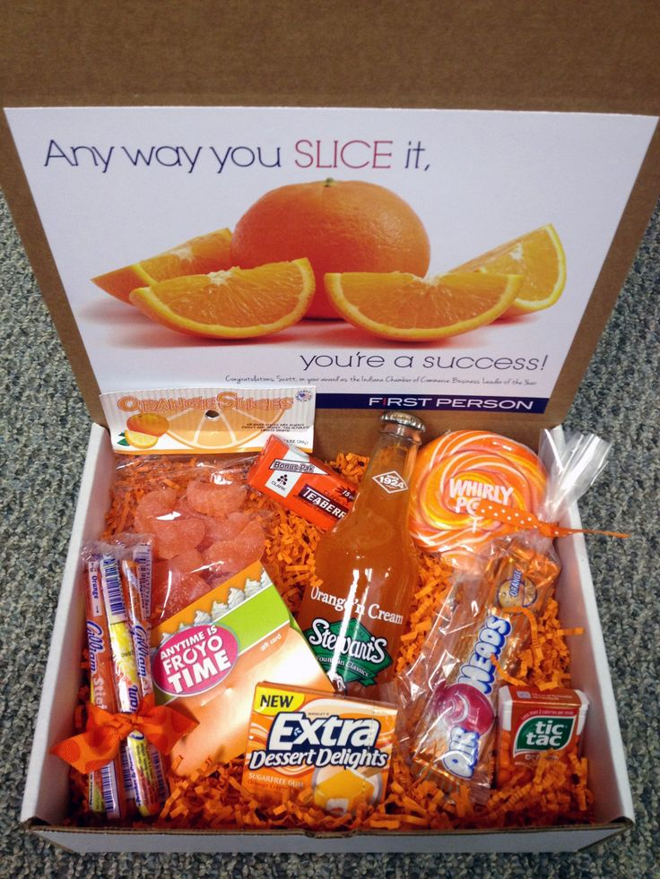 Creative corporate gift | Celebrate a company's success wit this congratulations box: Any way you slice it, you're a success! @ExactTarget congratulations box.