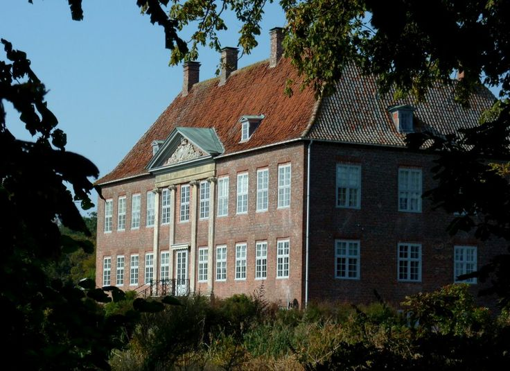 Nysø gods umiddelbart nord for Præstø.