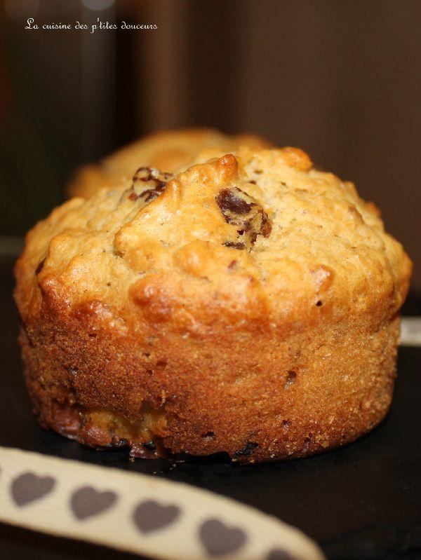 Muffins complets aux fruits secs spécial petit déj énergétique!