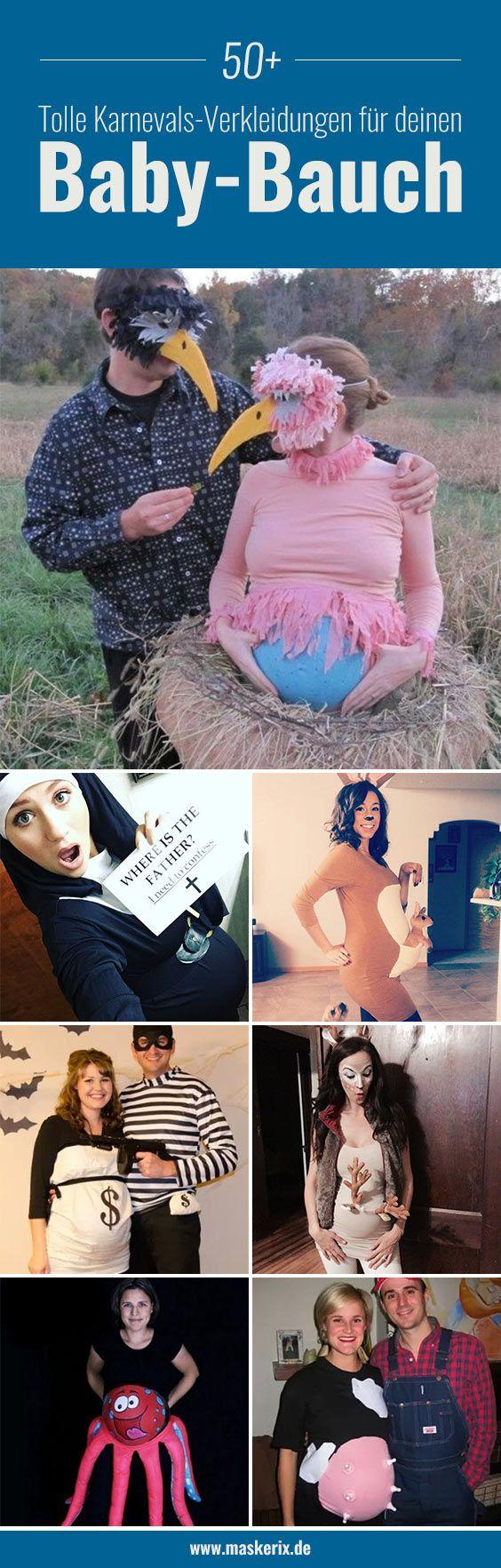 Inspiration, viele Beispiele und alle Accessoires, um dein Kostüme für Schwangere Kostüm selber zu machen!