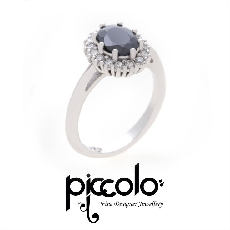 Chloe | A cluster of Diamonds set in White Gold  Contact us for your custom designed dress ring | info@piccolo-jewellery.co.za #dressring #whitegold #diamonds #cluster #jewellery