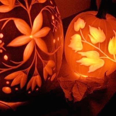 Beautiful Pumpkin Carving