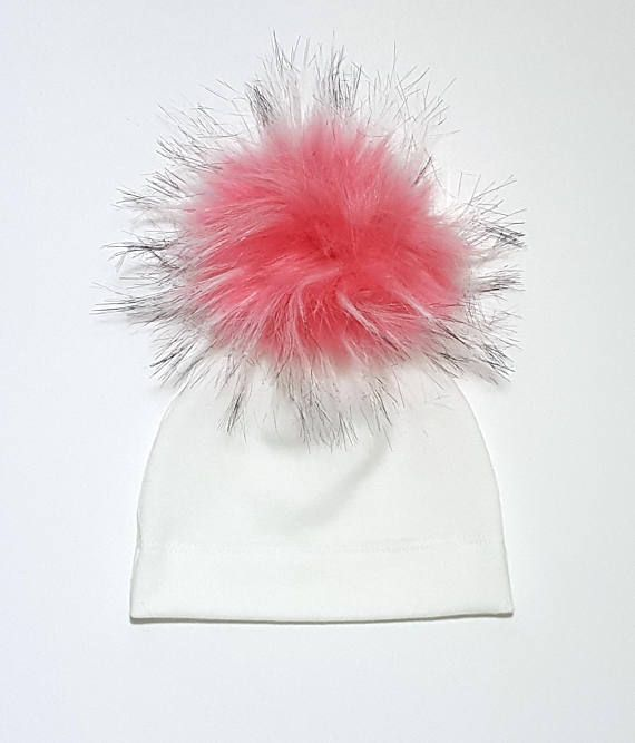 For Pom Pom Only: - These are Faux Raccoon Fur pom poms (approx. 11cm/4 inches in dia.) - Can order pompom only with a snap button on OR without it. Just select the right one carefully please. - All sales are FINAL!!! Sorry, I dont accept returns! - For Faux Fox Fur pom pom, Please click