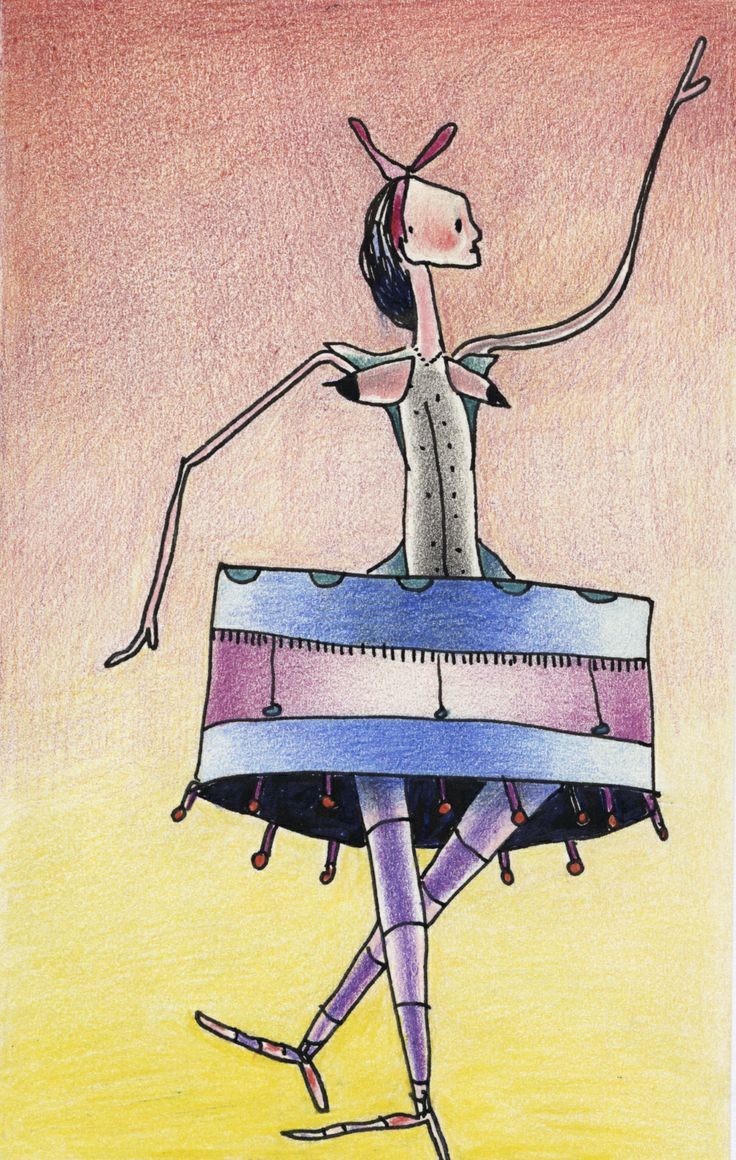 Upside Down Hat Cake/ Pen and Ink with water colour