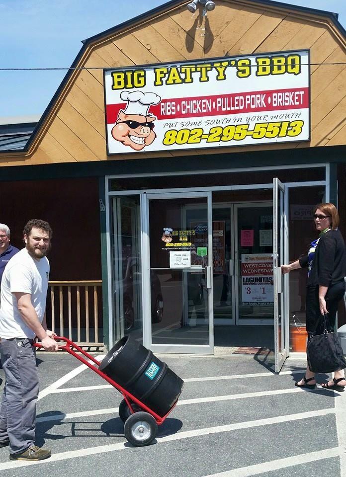 11.  Big Fatty's BBQ, 186 S Main St., White River Junction