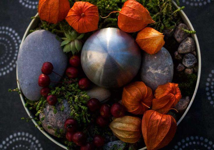 Autumn on a table