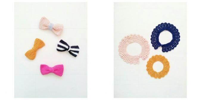 Accessoires voor kinderen zijn in allerlei soorten en maten te vinden. De toffe pet, stoere beanie of vrolijke sjaal kennen we allemaal. Maar wat dacht je van een hippe gehaakte bow tie (strik) of collar (kraagje)!