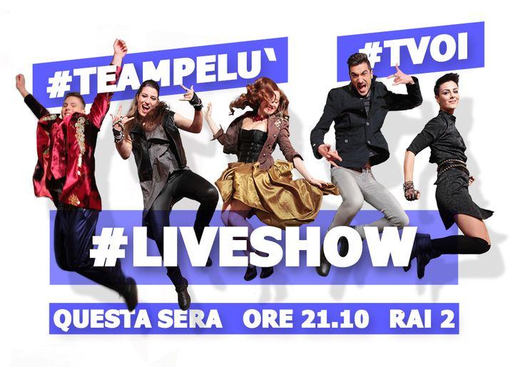 #TeamPelù #TommasoGregianin #IraGreen #AlessandraSalerno #MarcoDeVincentiis #RobertaCarrese #LiveShow #TVOI