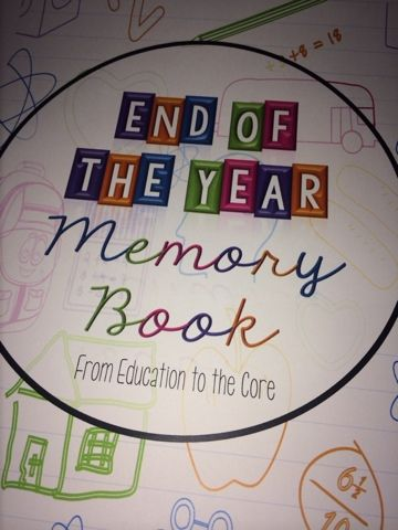 Education to the Core: Free Memory Book for Primary Grades