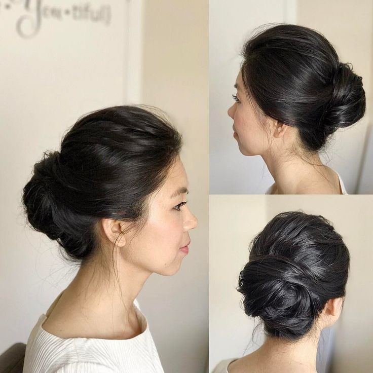 "15 Likes, 1 Comments - Fiona Tsang | Makeup • Hair (@imagibyfiona) on Instagram: ""The Modern French Twist updo for my #minimalist bride . . . . #hairstyles #updo #frenchtwist…"" #frenchtwistupdo"