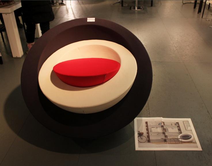 De S3, de Italiaanse fauteuil in de collectie van Designcollections. (www.meubel.nl)