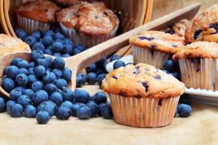 BEST muffins ever!!  Can be made with any kind of fruit, chocolate chips etc...awesome with blackberries!!