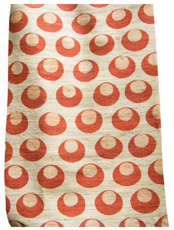 Good Look Room - Fabrics - Collections - Arjumand - The Imperial - TURKISH MOON RED TUSSAH SILK