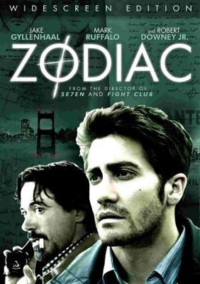 Zodiac (2007) : Jake Gyllenhaal, Mark Ruffalo, Robert Downey Jr, Chloë Sevigny, John Carroll Lynch