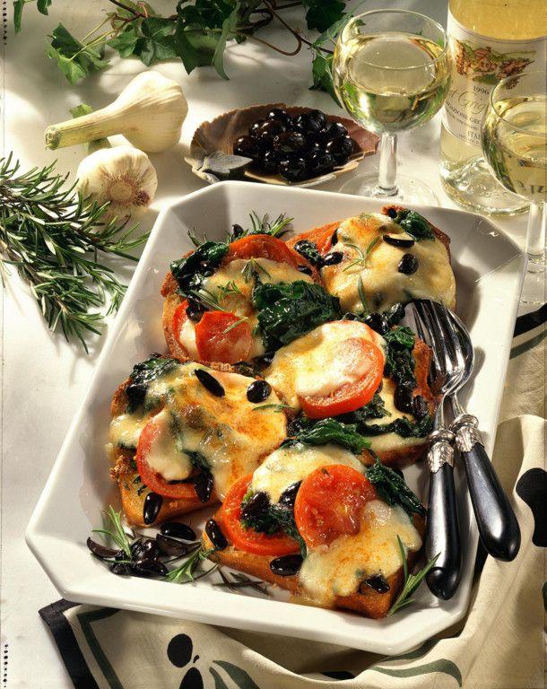 Unser beliebtes Rezept für Überbackene Brote alla Toscana und mehr als 55.000 weitere kostenlose Rezepte auf LECKER.de.
