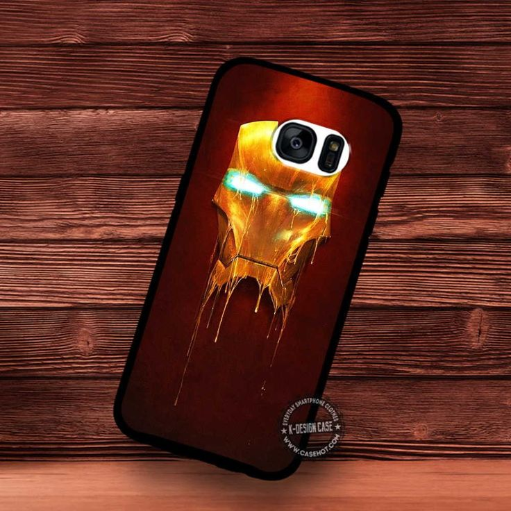 Iron Man Mask Superheroes Movie - Samsung Galaxy S7 S6 S5 Note 7 Cases & Covers