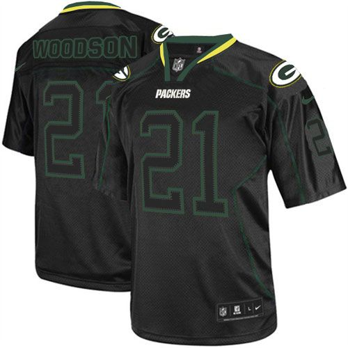 All Size Free Shipping Elite Men's Nike Green Bay Packers #21 Charles Woodson Lights Out Black NFL Jersey. Have your Elite Men's Nike Green Bay Packers #21 Charles Woodson Lights Out Black NFL Jersey shipped in time for the next NFL game with our low price $4.99 3-day shipping. Go G-Men!$129.99