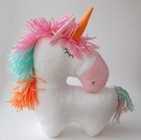 Sewing pattern Unicorn stuffed horse toy