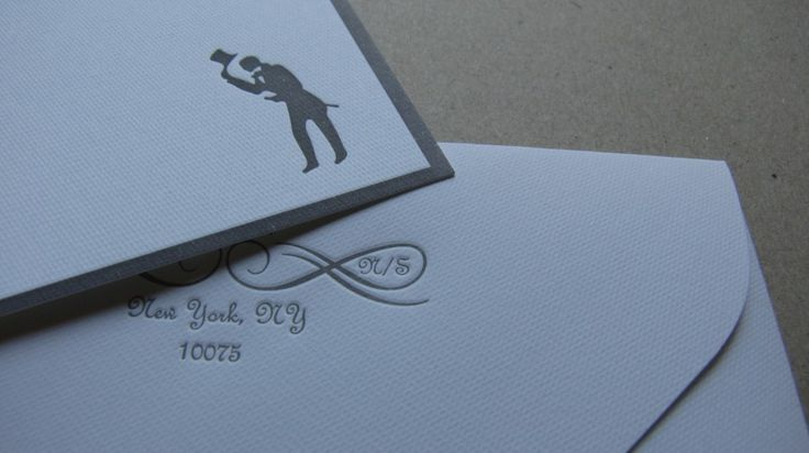letterpress personalized notecards